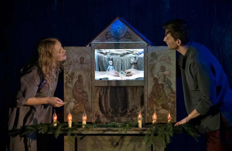 Спектакль «Звезда по пути в Вифлеем» в Театре кукол имени Образцова фото 1