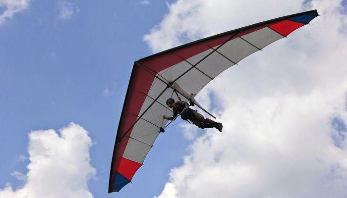 Полёт на дельтаплане в клубе «Альбатрос» фото 1