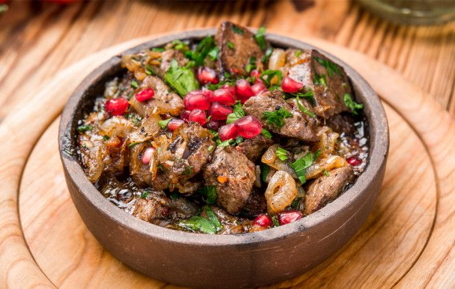 Скидка 50% на всё меню и напитки в ресторане грузинской кухни «Бахтриони» фото 1