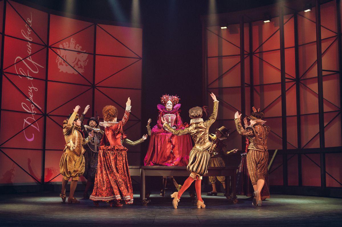 Спектакль «Влюблённый Шекспир» в Театре имени А. С. Пушкина фото 6