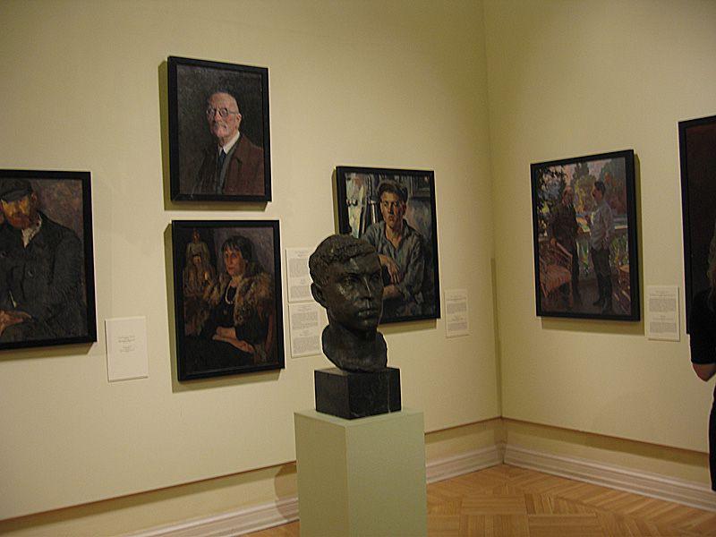 постоянная экспозиция «Лица России. Портретная галерея Русского музея»