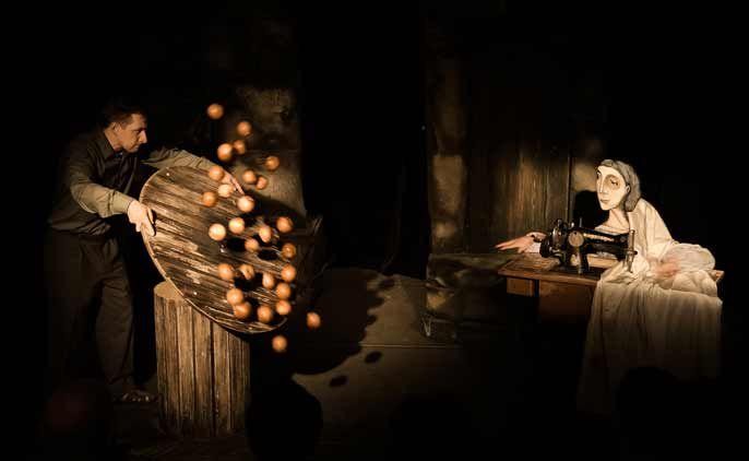Спектакль «Жена мужа в Париж провожала» в Театре кукол С. В. Образцова фото 4