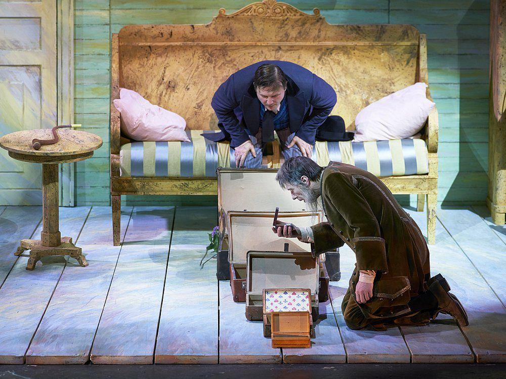 Спектакль «Обломов» в Театре Маяковского фото 6