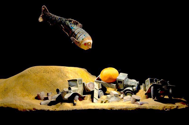 Спектакль «Ленинградка» в Театре кукол им. С. В. Образцова фото 4