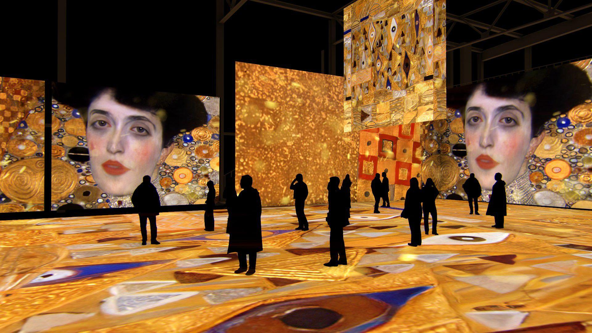 Мультимедийная выставка «Густав Климт. Золото модерна» фото 2
