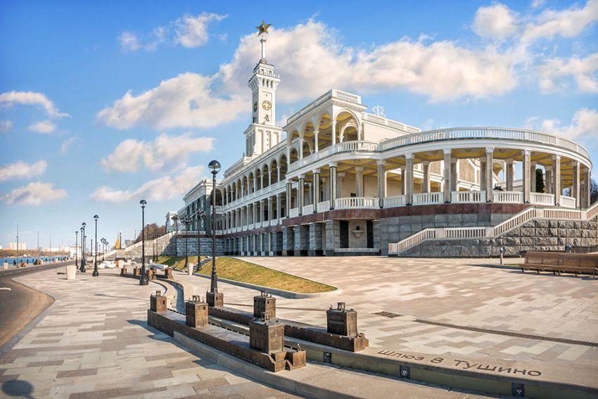 Экскурсия «Северный речной вокзал. Дворец и порт пяти морей» фото 3
