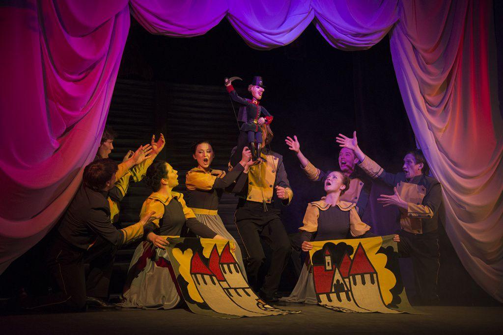 Спектакль «Огниво» в Московском театре кукол на Спартаковской фото 6
