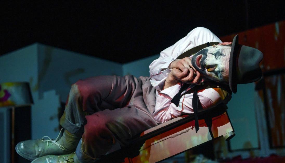 Онлайн-показ спектакля «Глазами клоуна» Максима Диденко в Национальном театре Мангейма фото 1