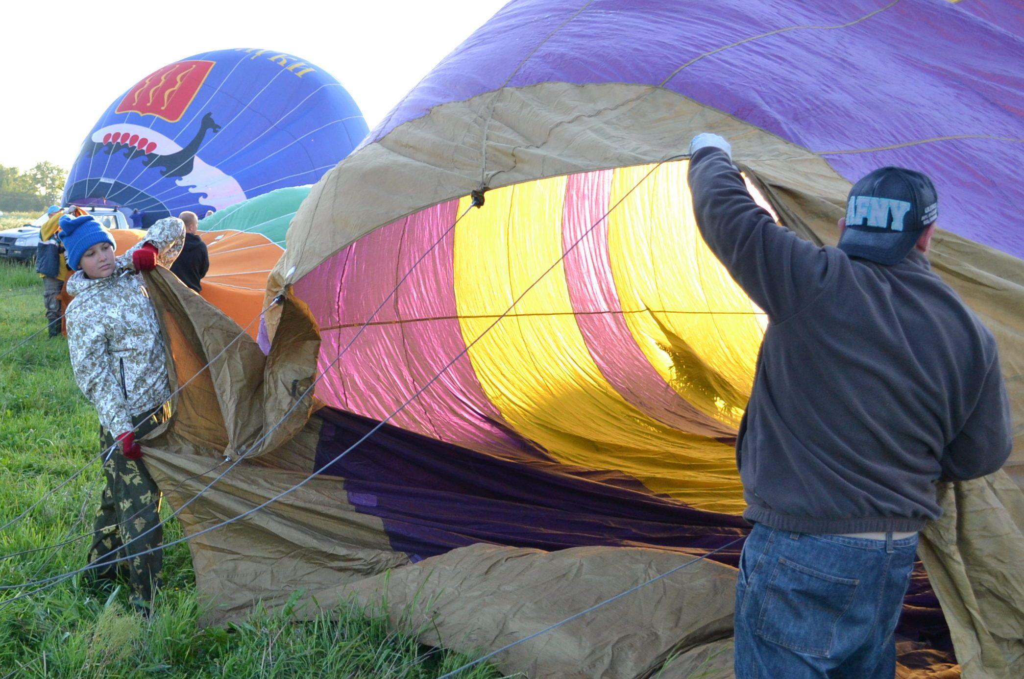 Привязные полёты на воздушном шаре фото 2