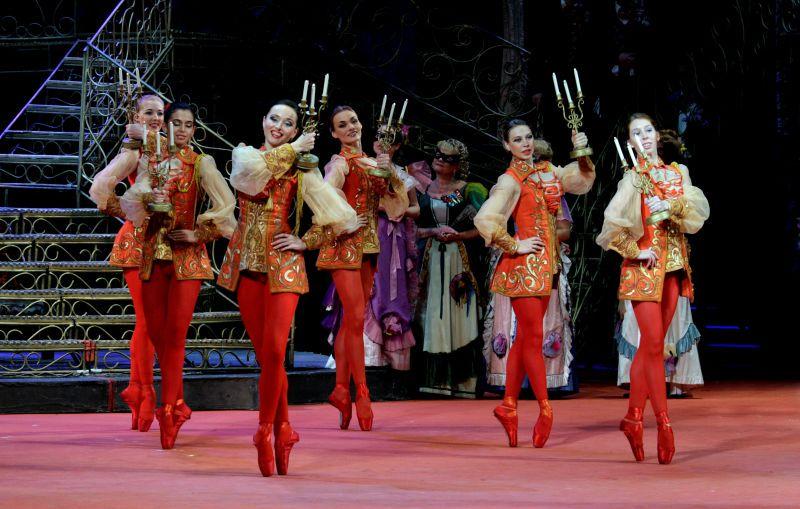 Спектакль «Летучая мышь» в Театре «Московская оперетта» фото 1