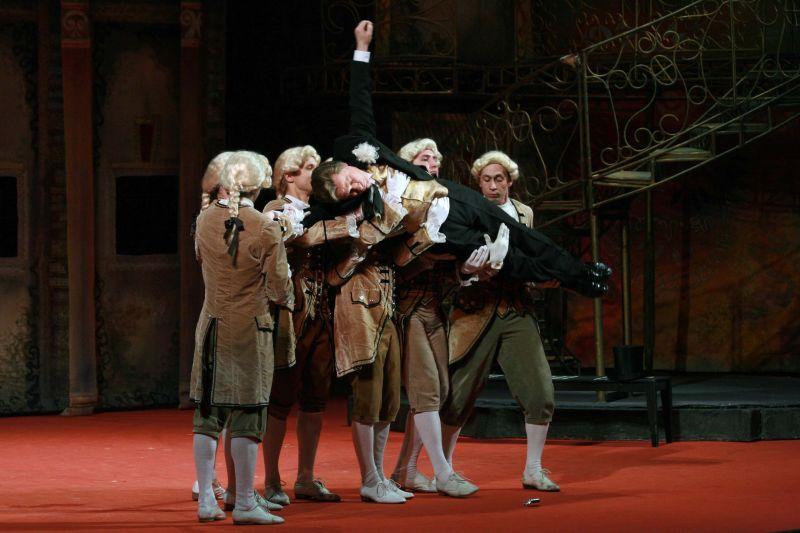 Спектакль «Летучая мышь» в Театре «Московская оперетта» фото 5