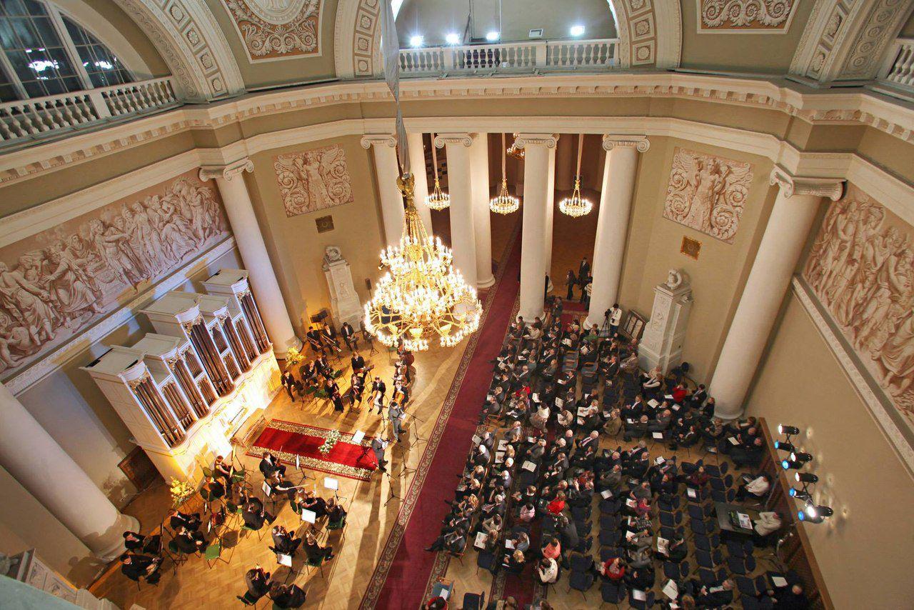 Органные концерты в Таврическом дворце фото 2