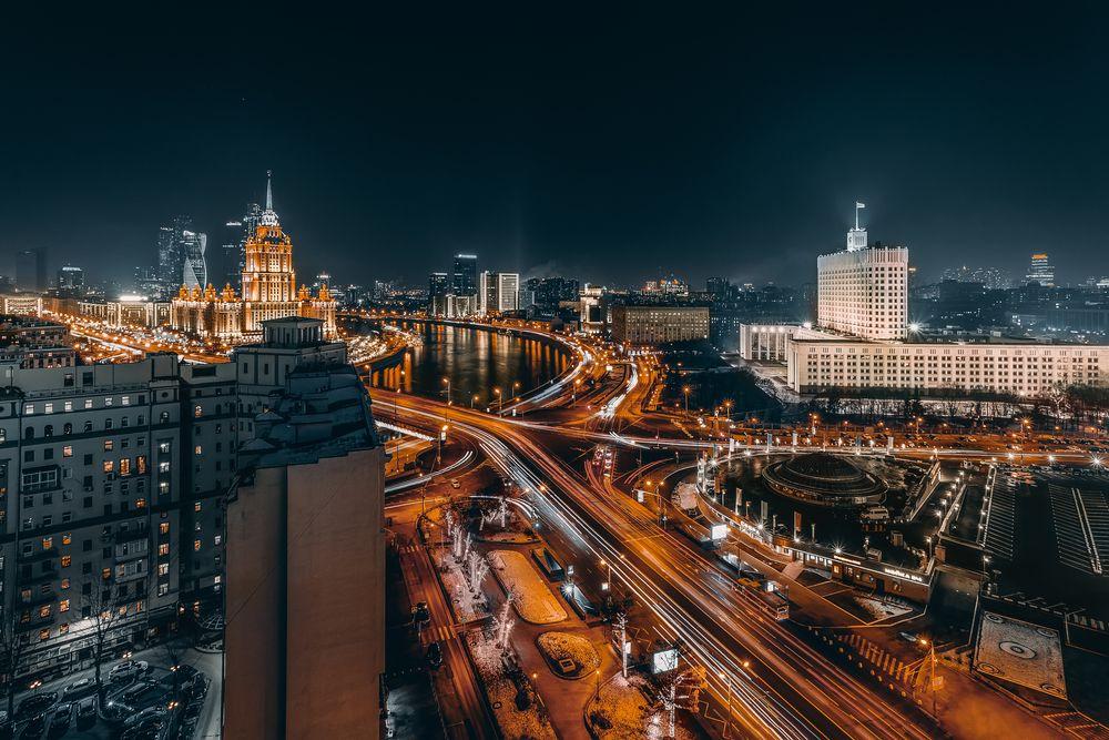 Автобусная экскурсия «Огни ночной Москвы» фото 2
