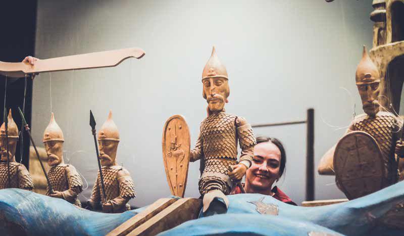 Спектакль «Сказка о царе Салтане» в Театре кукол имени С. В. Образцова фото 1