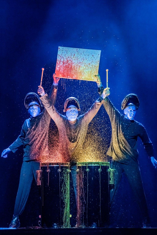Шоу Blue Man Group фото 6