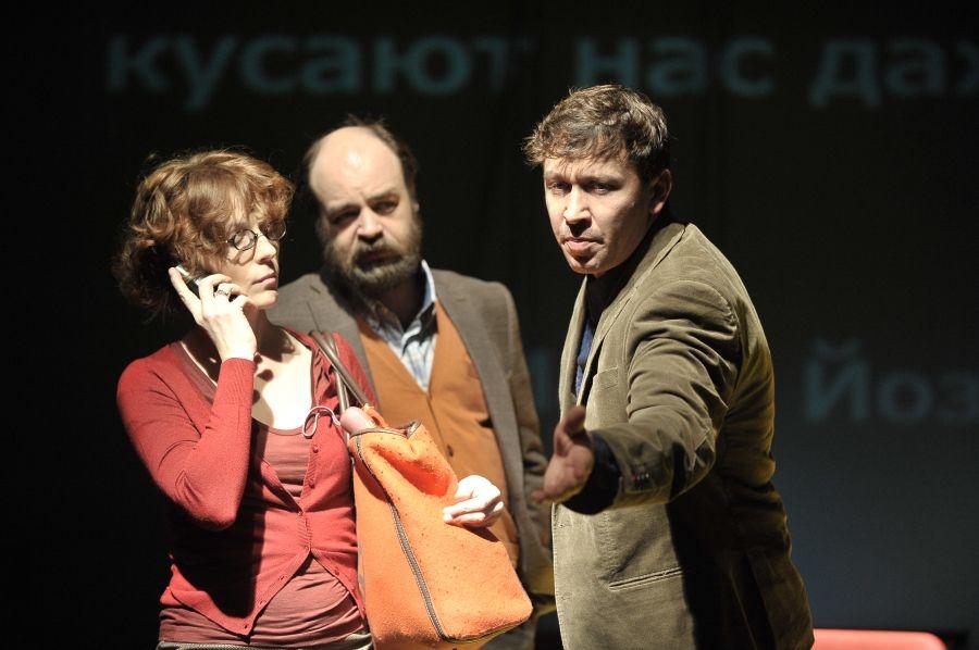 Спектакль «Летние осы кусают нас даже в ноябре» в Театре «Мастерская П. Н. Фоменко» фото 2