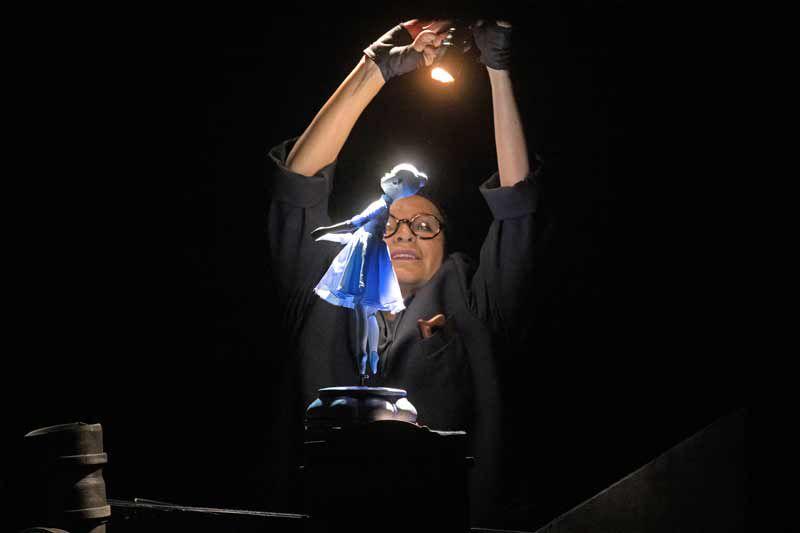 Спектакль «Солнечный луч» в Театре кукол имени С. В. Образцова фото 2