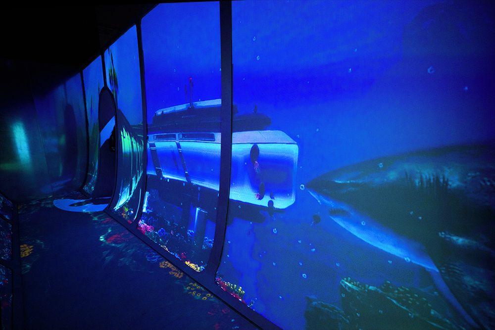 Интерактивная мультимедийная выставка «Океан юрского периода» в «Москвариуме» фото 5