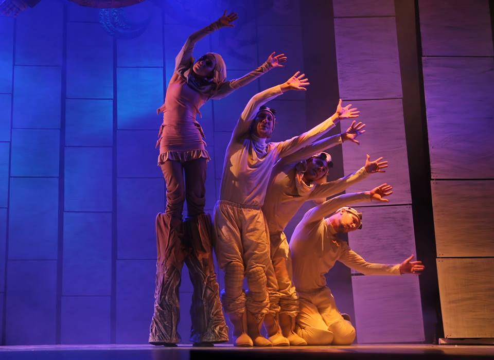 Спектакль «Морожены сказки» в Московском театре кукол на Спартаковской фото 1
