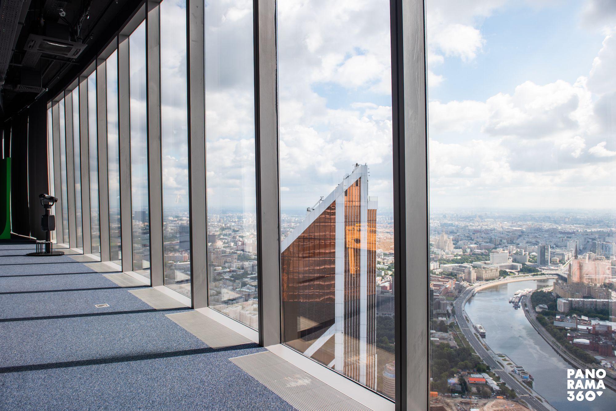 Онлайн-экскурсии по Москве с 89-го этажа от площадки PANORAMA360 фото 1