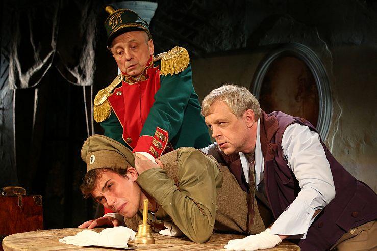 Спектакль «Игроки» в Театре им. Ермоловой фото 7