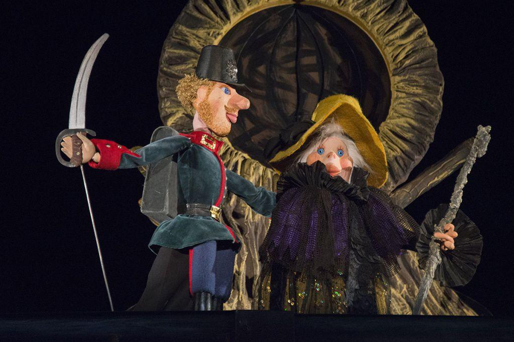 Спектакль «Огниво» в Московском театре кукол на Спартаковской фото 3