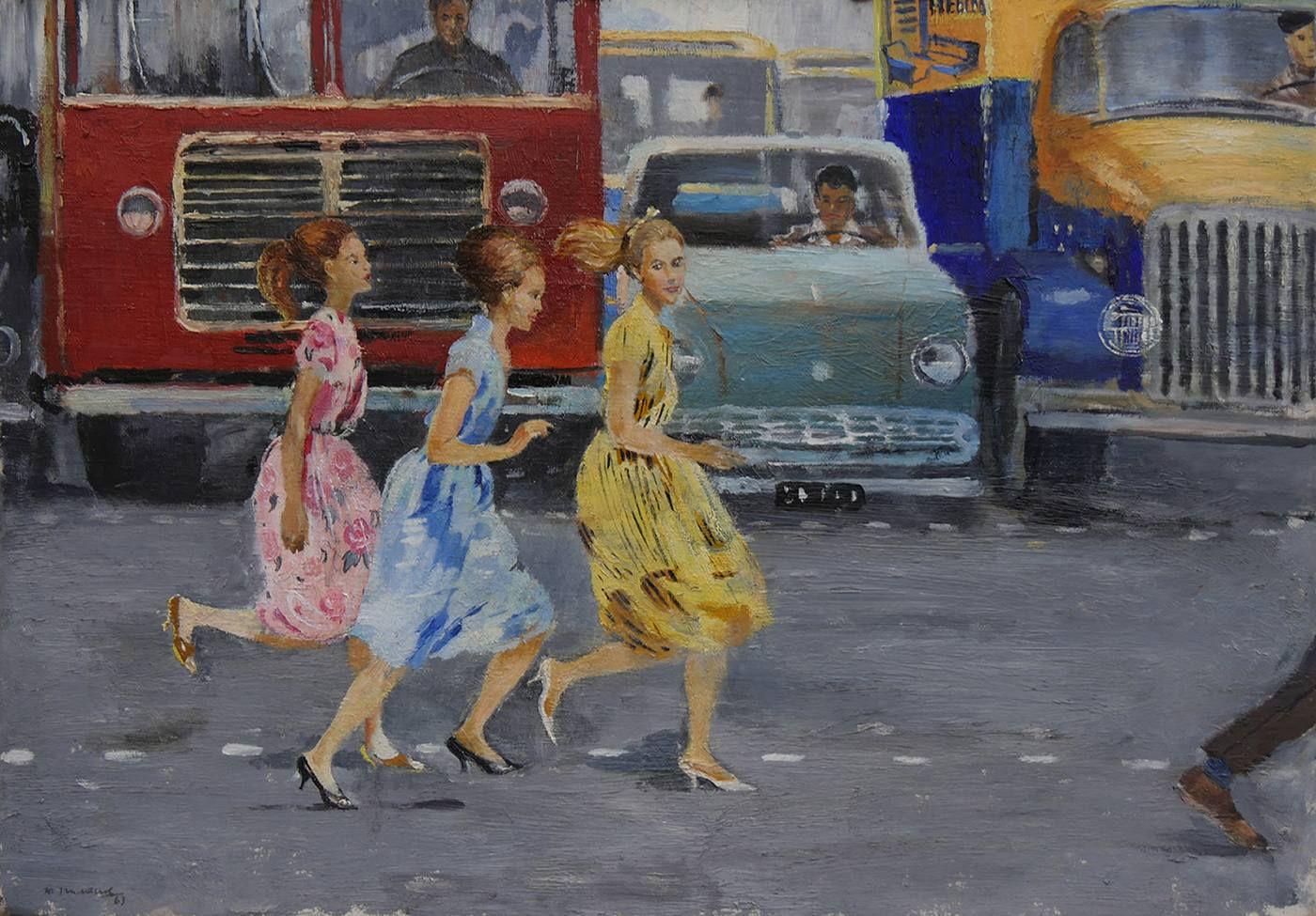 Выставка «Юрий Пименов» фото 1
