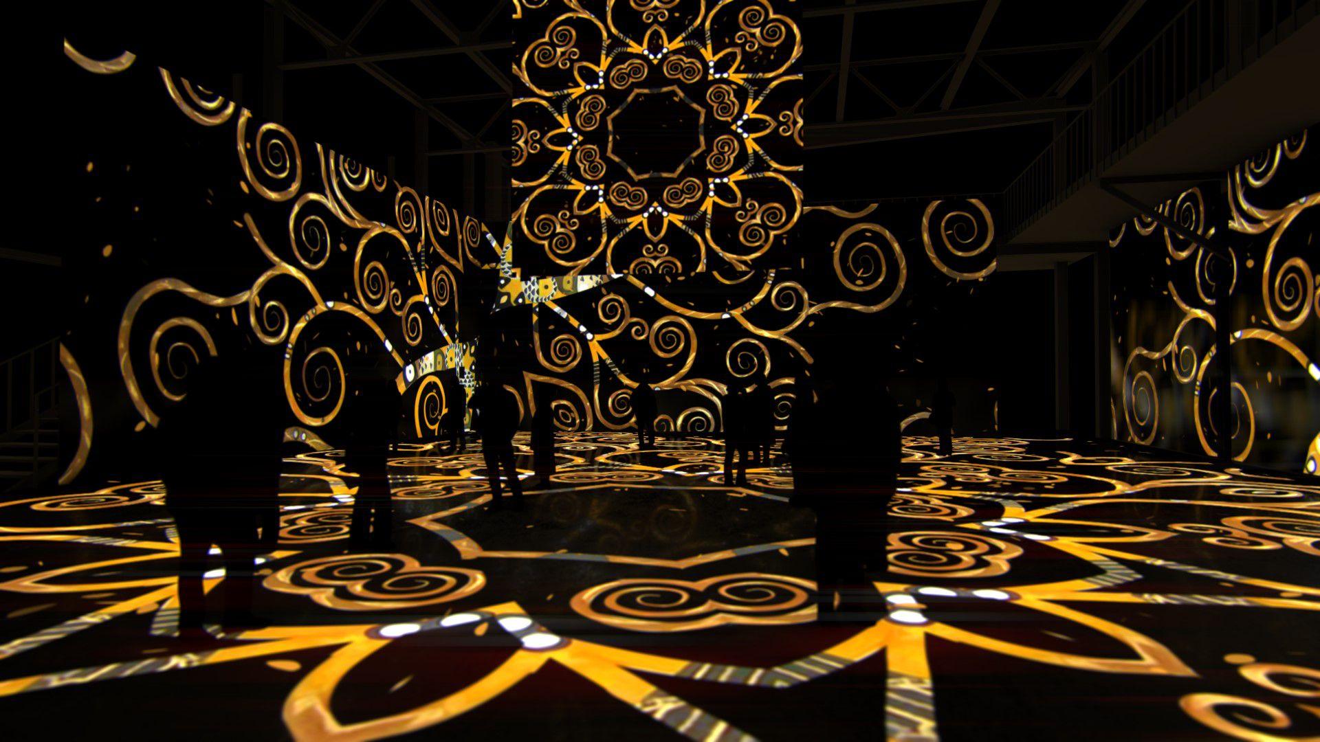 Мультимедийная выставка «Густав Климт. Золото модерна» фото 9