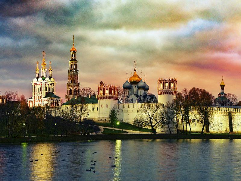 Экскурсия по Новодевичьему монастырю фото 1