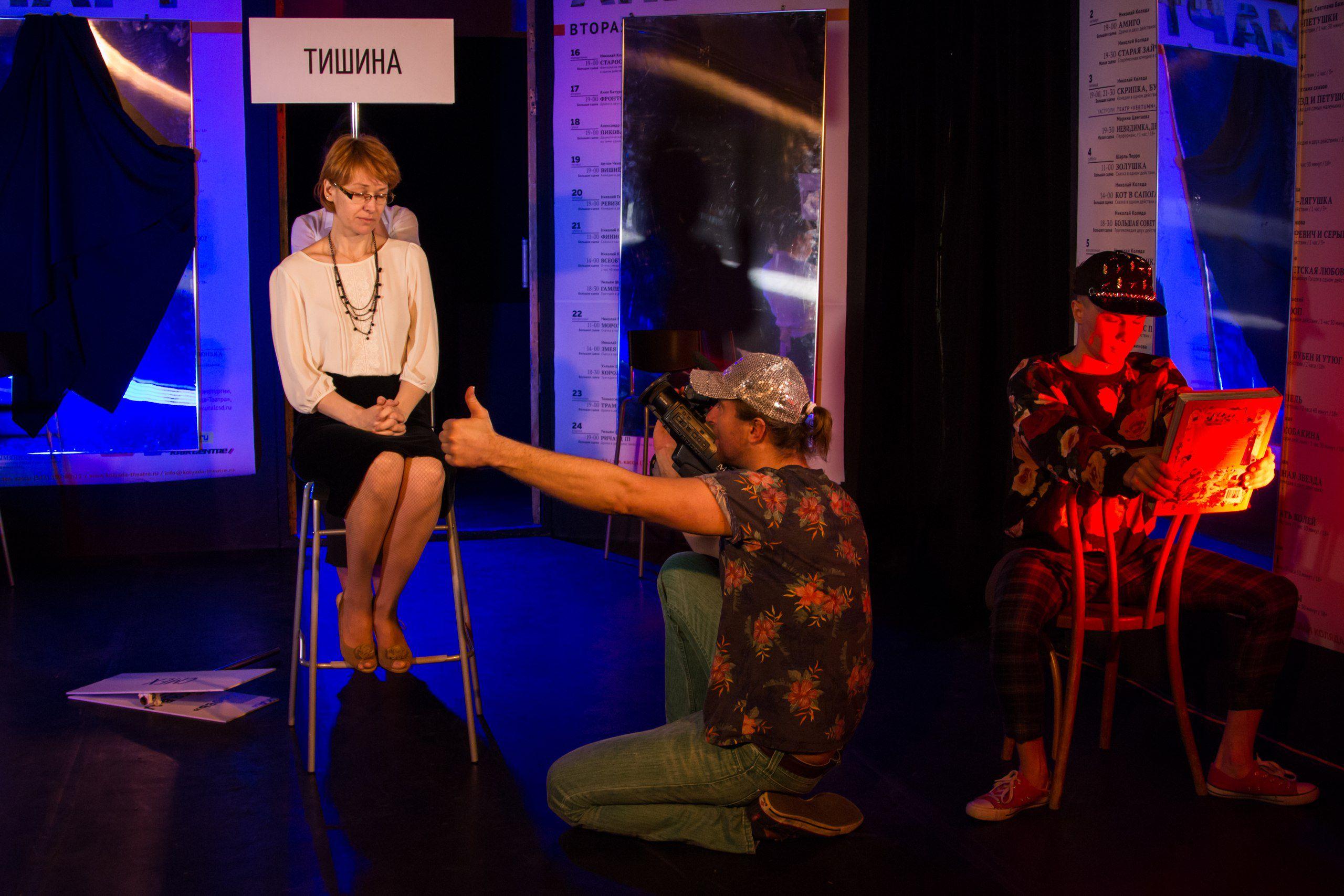 Гастроли «Коляда-театра» в Москве фото 5