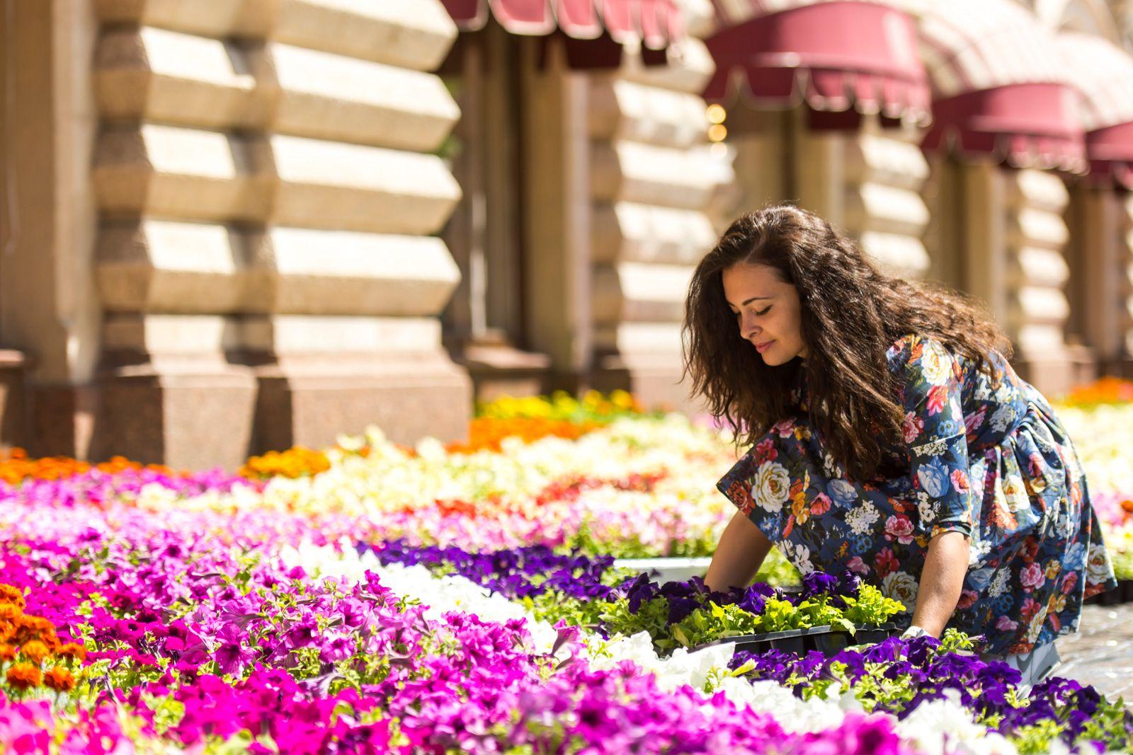 Фестиваль цветов в ГУМе фото 1