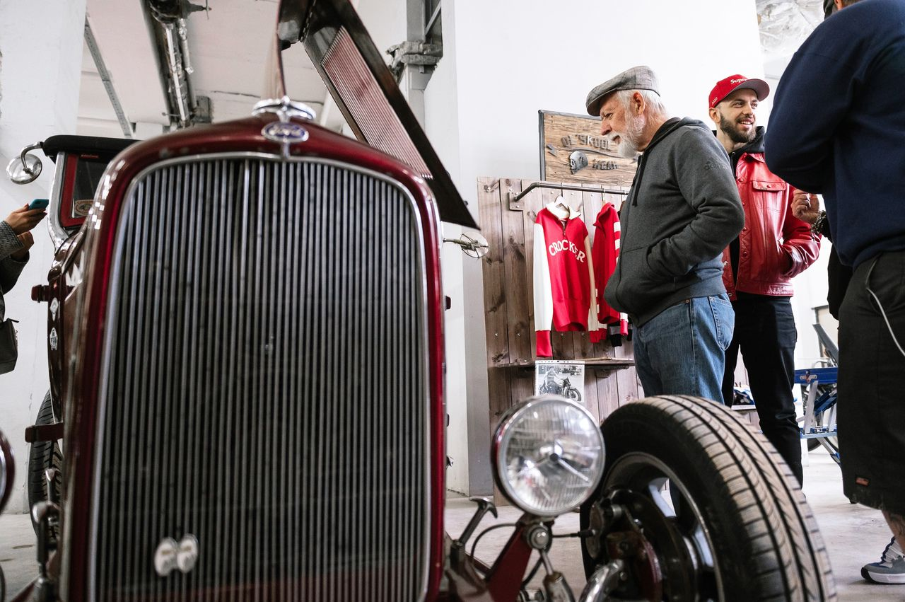 Выставка автомобилей Wheels & Chains фото 5