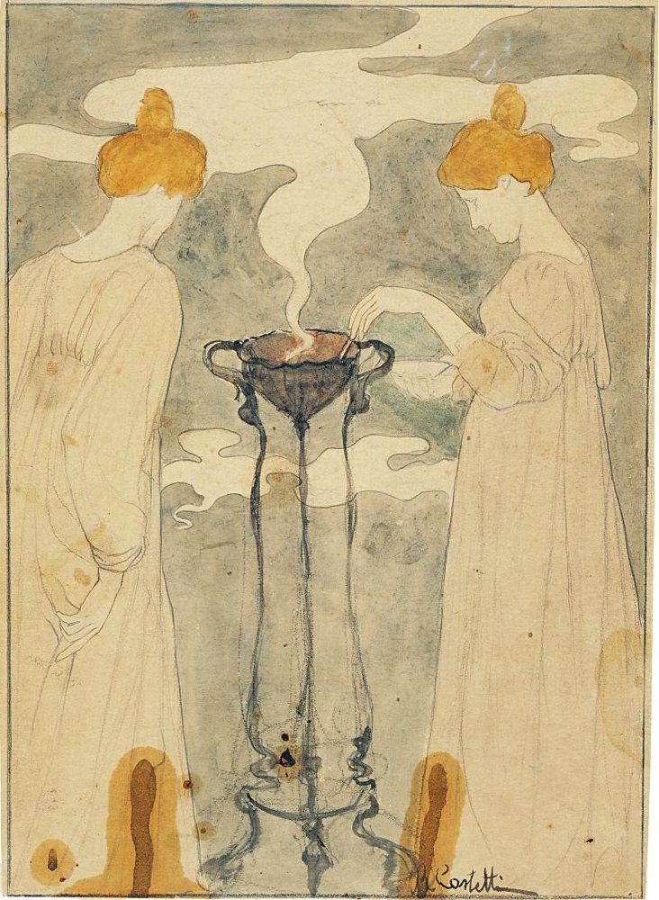 Выставка «Этюды о рисунках. Итальянский вклад в русский символизм» фото 2