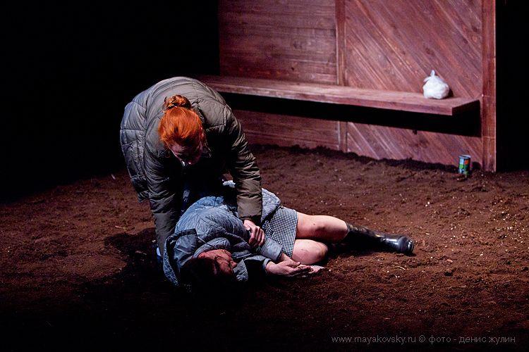 Спектакль «Любовь людей» Дмитрия Богославского в Театре имени Вл. Маяковского фото 6