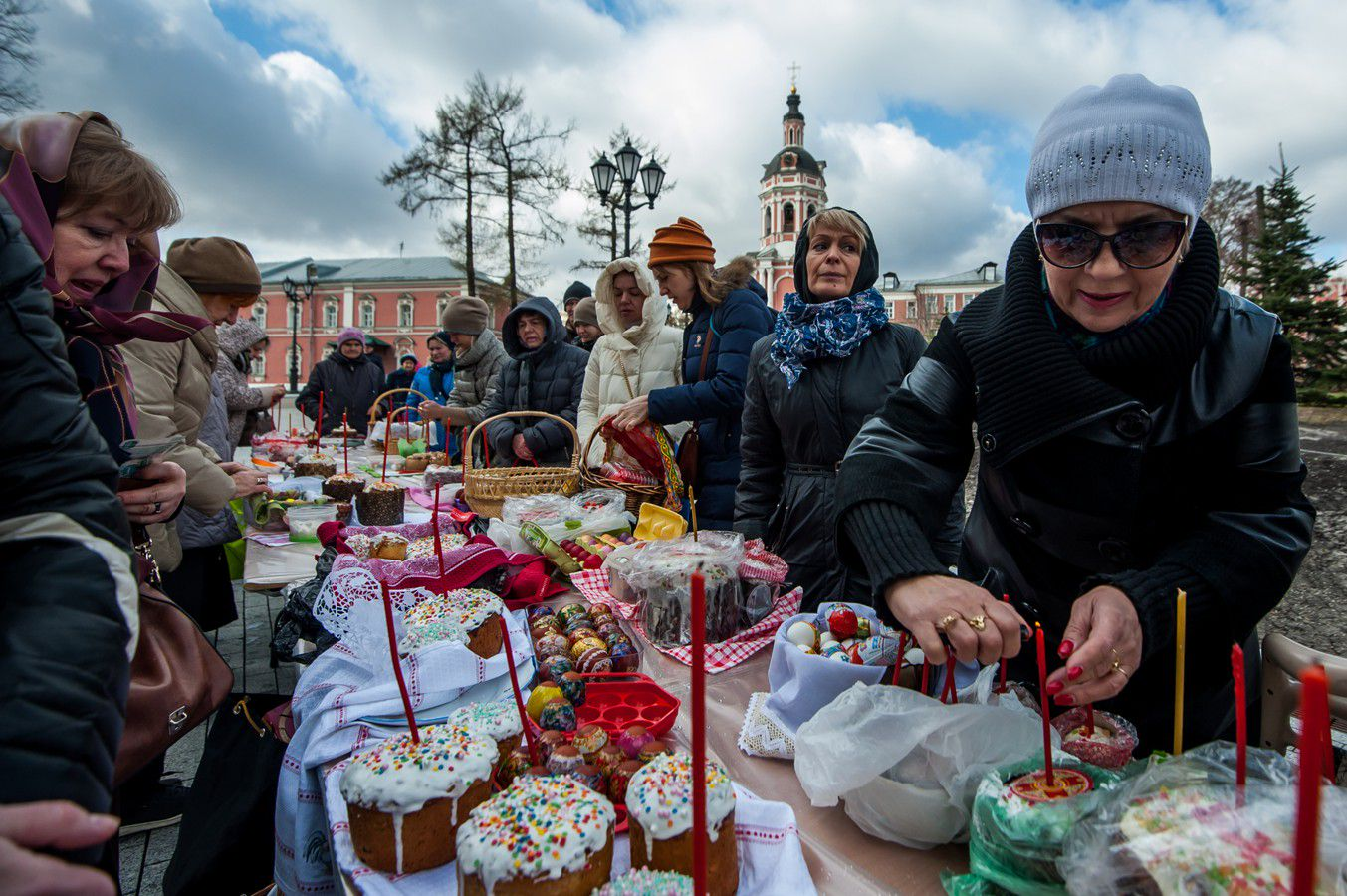 Пасха-2021 в Москве фото 3