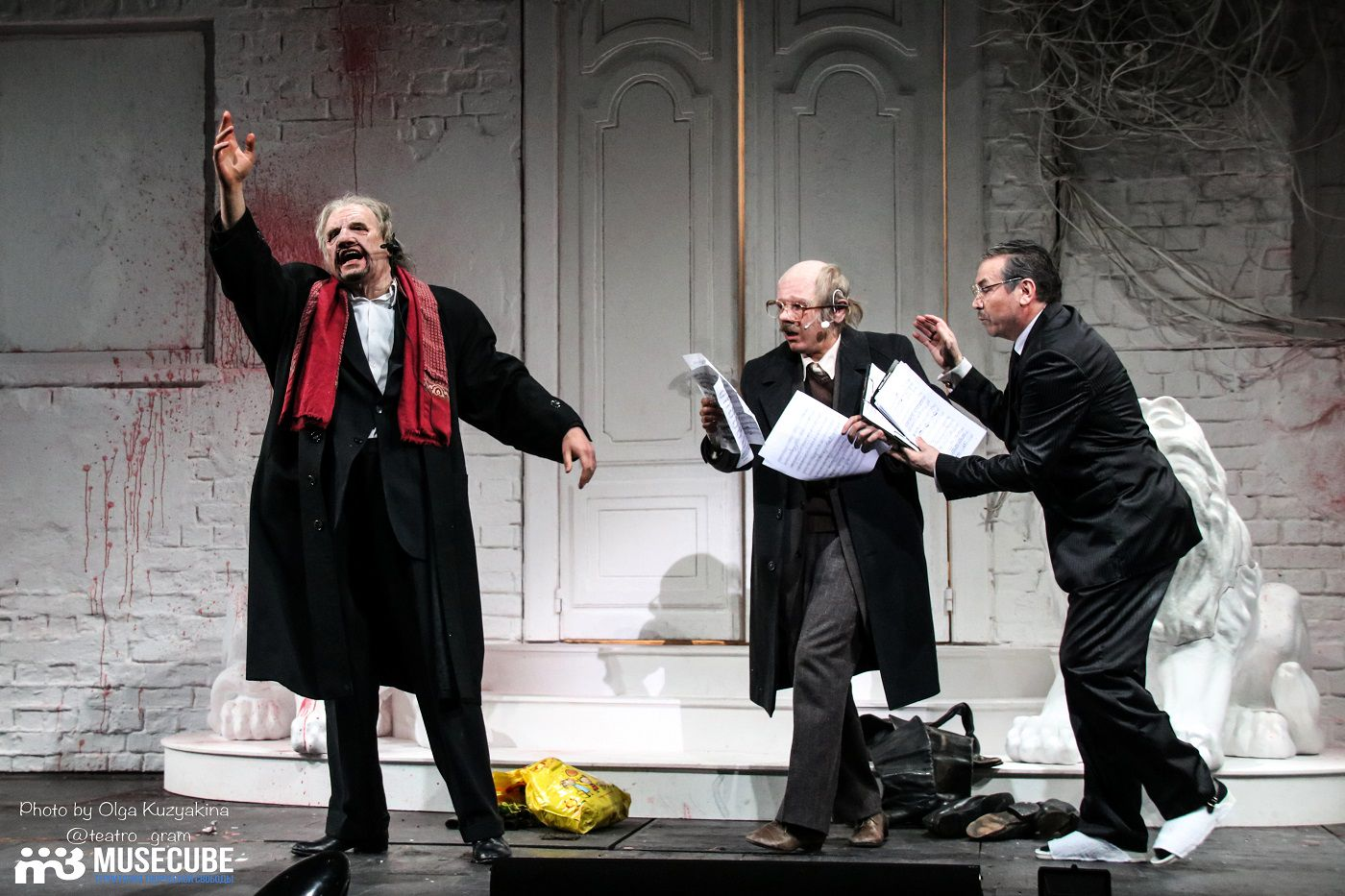 """Спектакль «Моцарт. """"Дон Жуан"""". Генеральная репетиция» в театре «Мастерская Петра Фоменко» фото 2"""