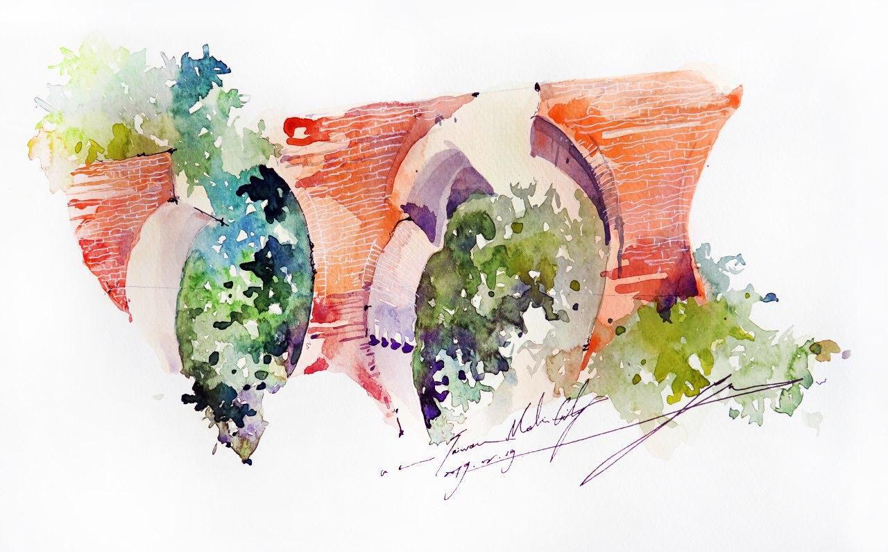 Онлайн-курс «Зарисовки путешествий» с тайваньской художницей Юджи Кай от ARTLIFE ACADEMY фото 7
