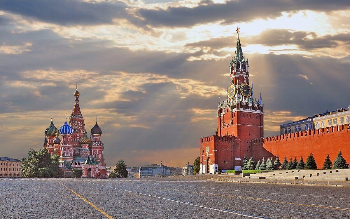 Москву в картинках