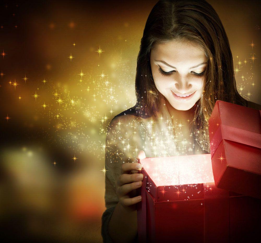 Как сделать подарок магией