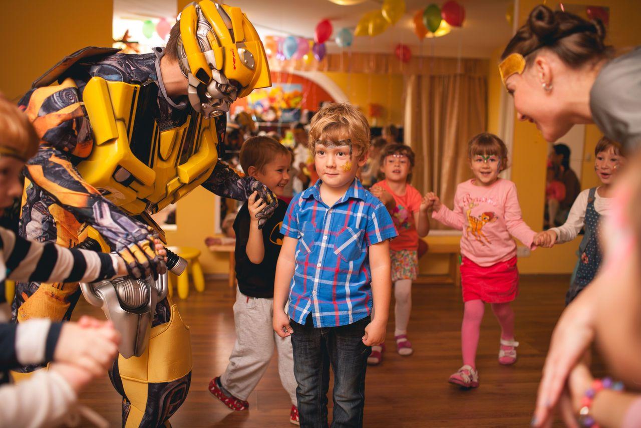 Детские кафе в Москве для празднования дня рождения