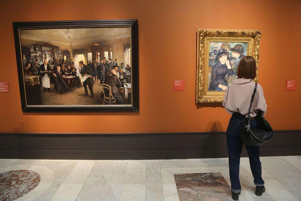 Выставка передвижники и импрессионисты