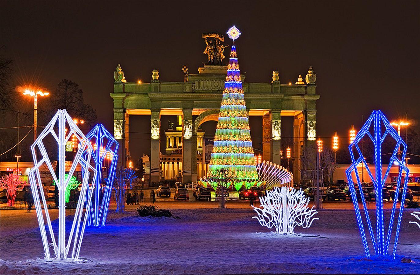 Маршрут по Москве в новогоднюю ночь Варламов
