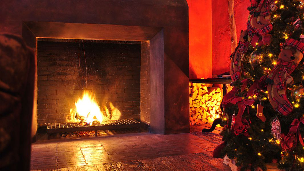 происхождению картинки зима камин огни грыже
