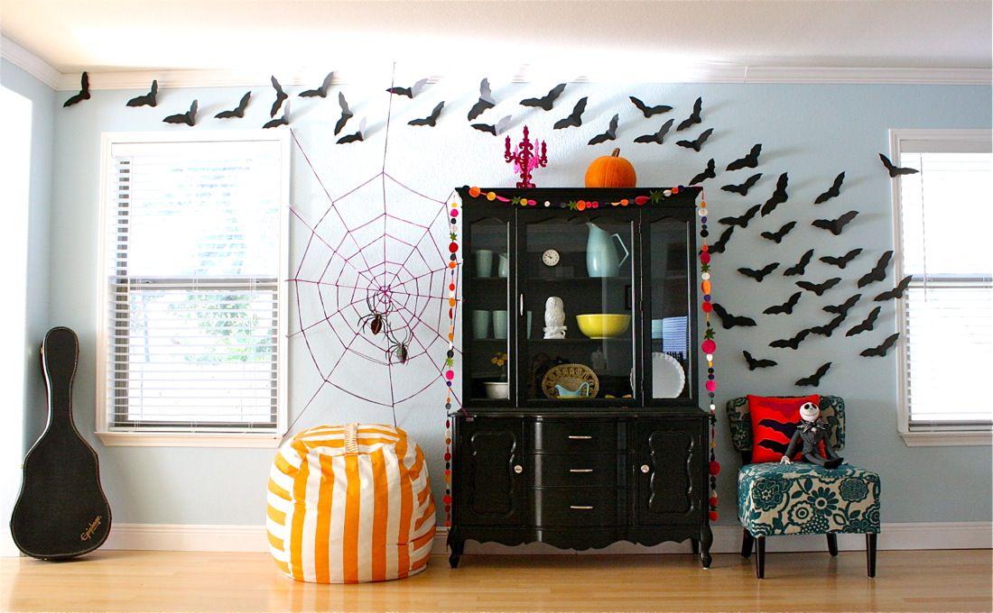 Декор квартиры к хэллоуину своими руками