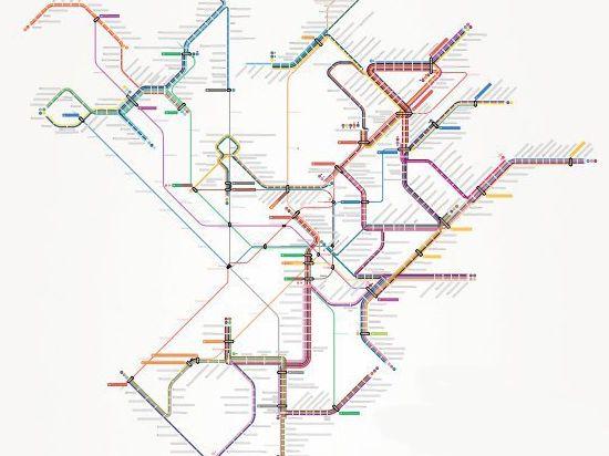 Новую схему трамвайных