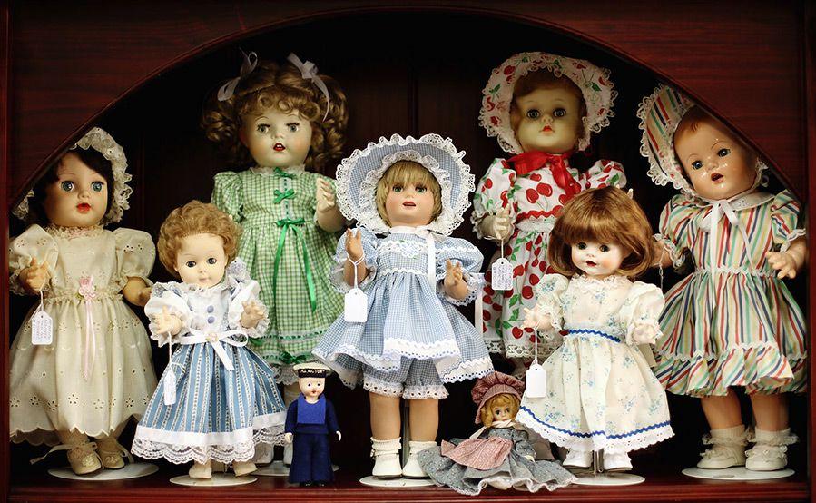 Коллекции старинных игрушек картинки
