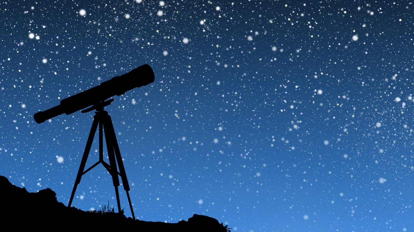 звёзды через телескоп фото