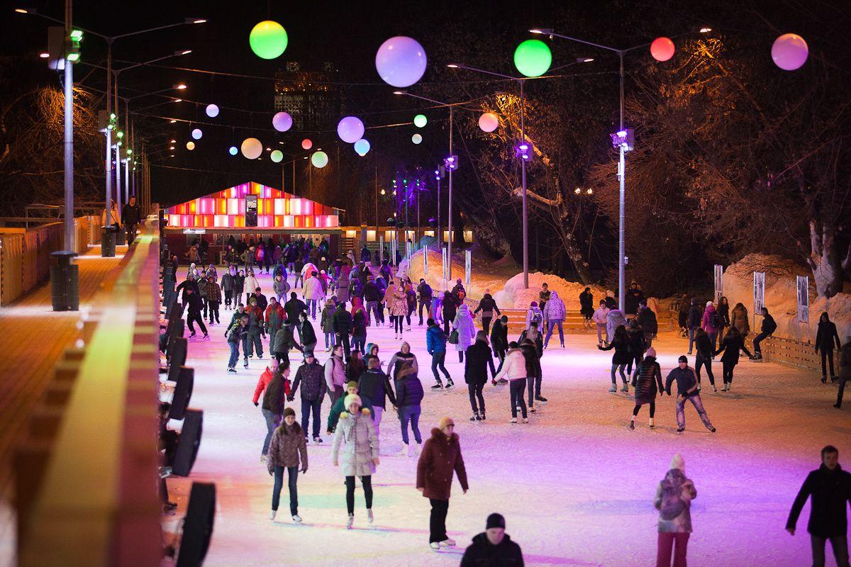 17 ноября в Парке Горького состоится открытие катка
