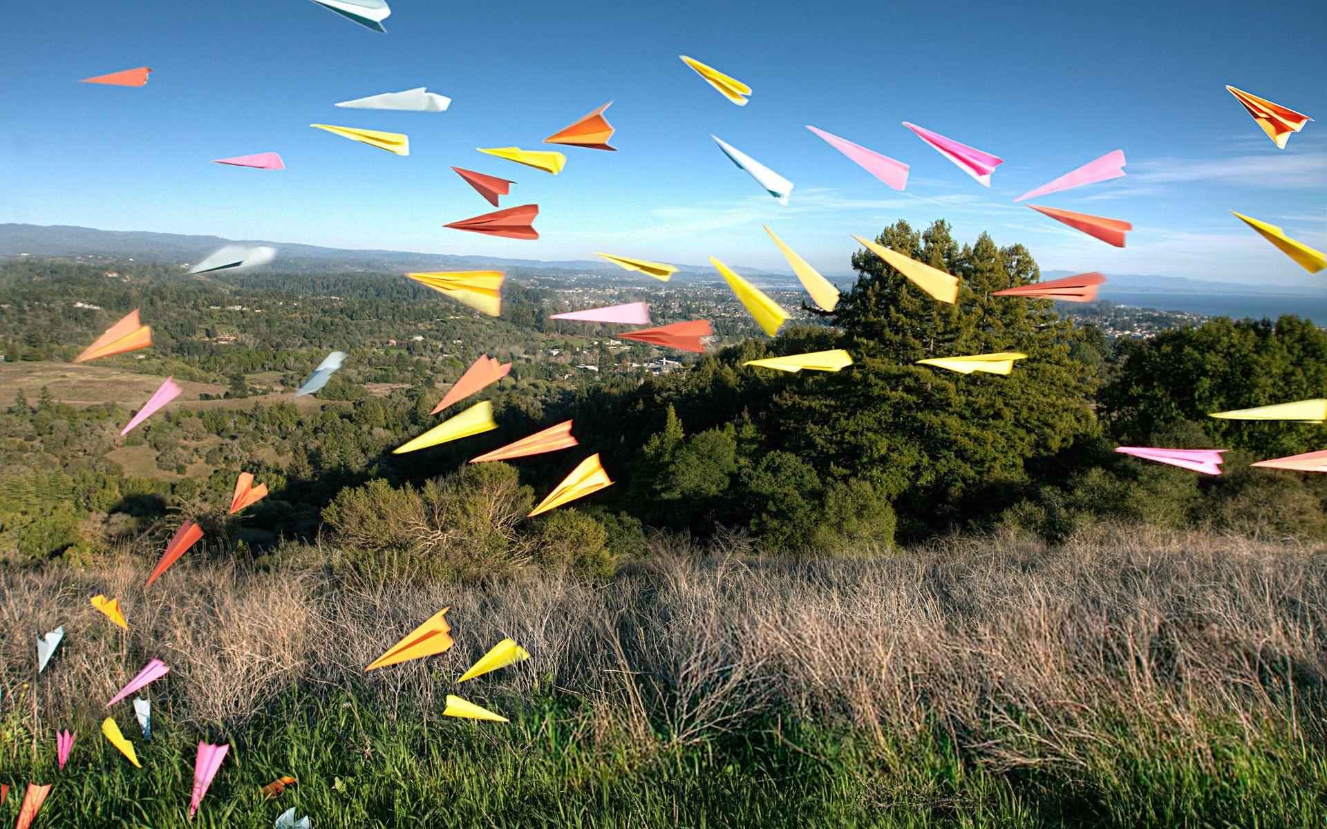 День бумажных самолетиков картинки