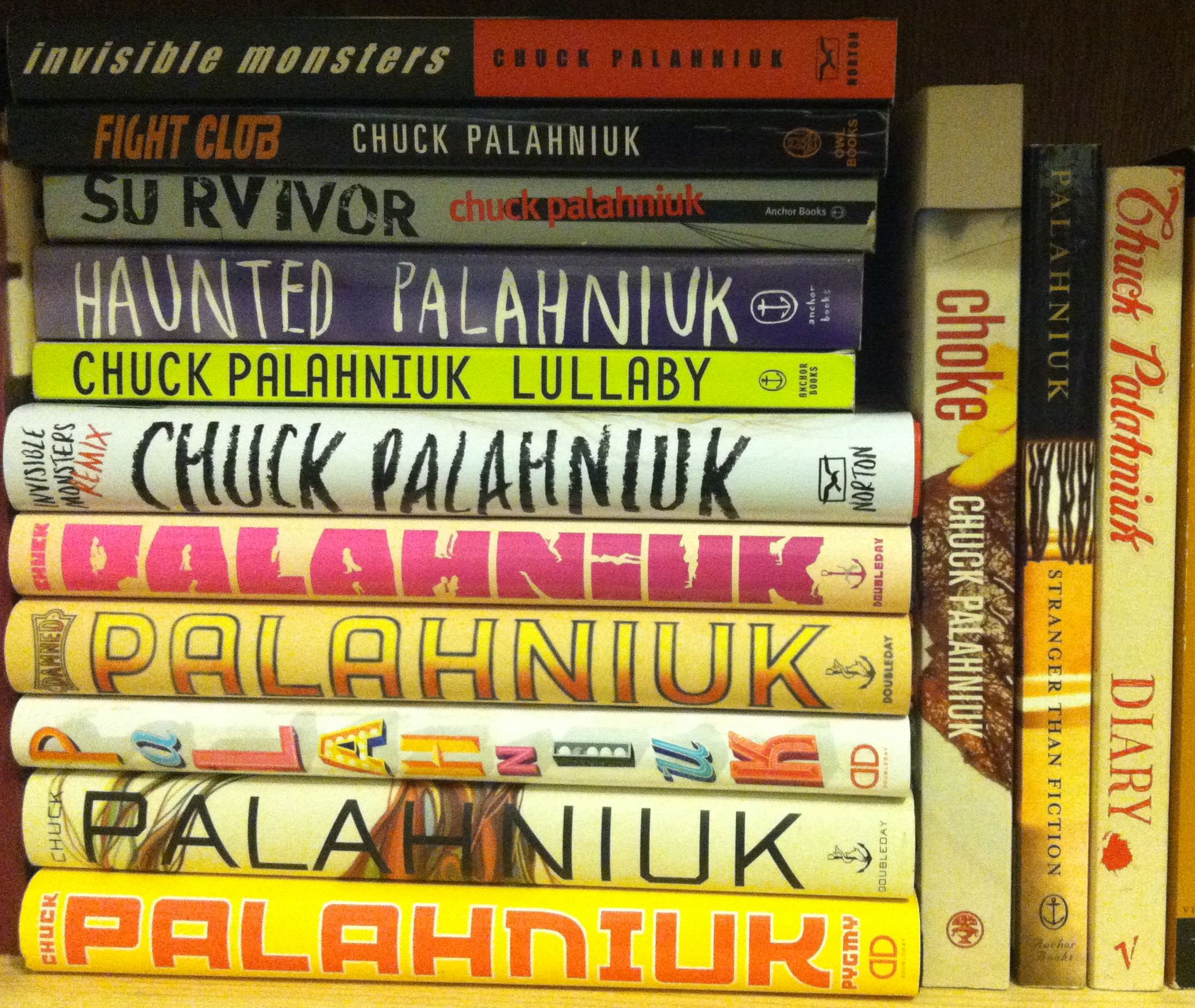 chuck palahniuk writing tips You got questions, we got answers this is the ultimate chuck palahniuk faq 13 writing tips while writing lullaby chuck asked co-founder of the cult.